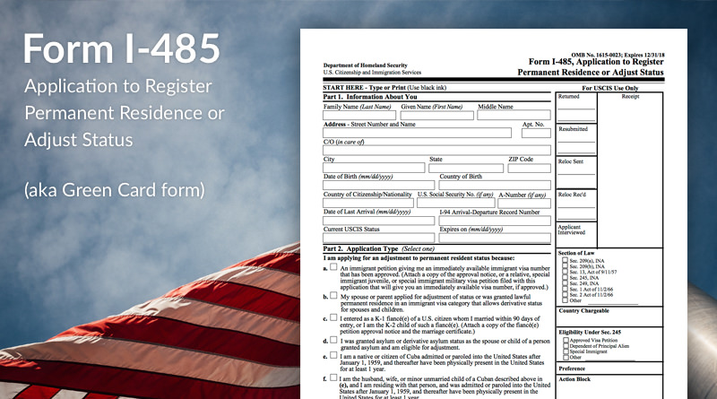 form i 485 status  What is Form I-11 Used For? - Immigration Learning Center