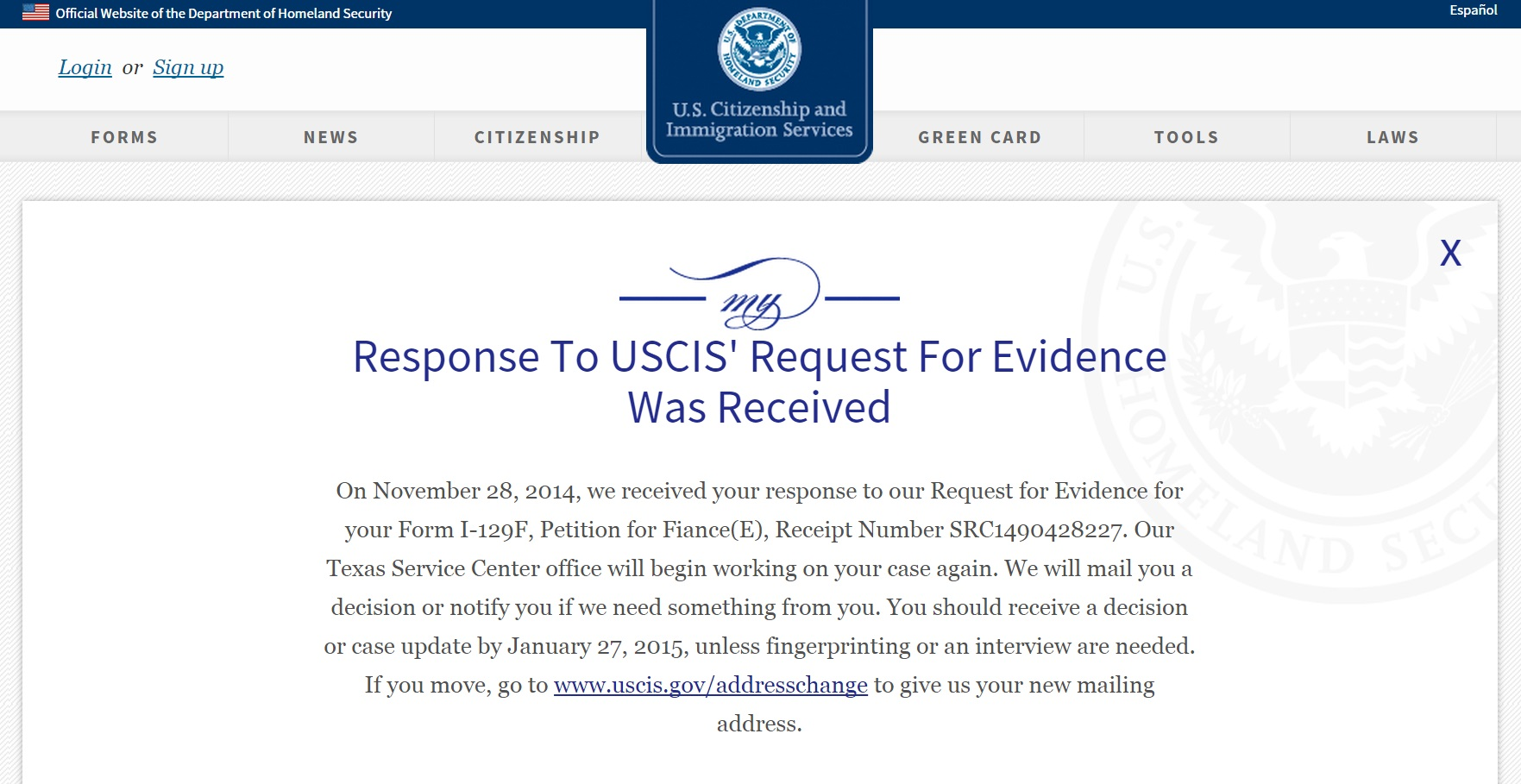 Request for evidence what to do immigration learning center request for evidence what to do falaconquin