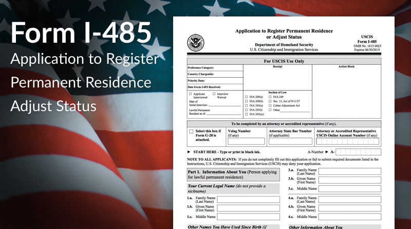 Submitting Form I 485 What To Expect Immigration Learning Center