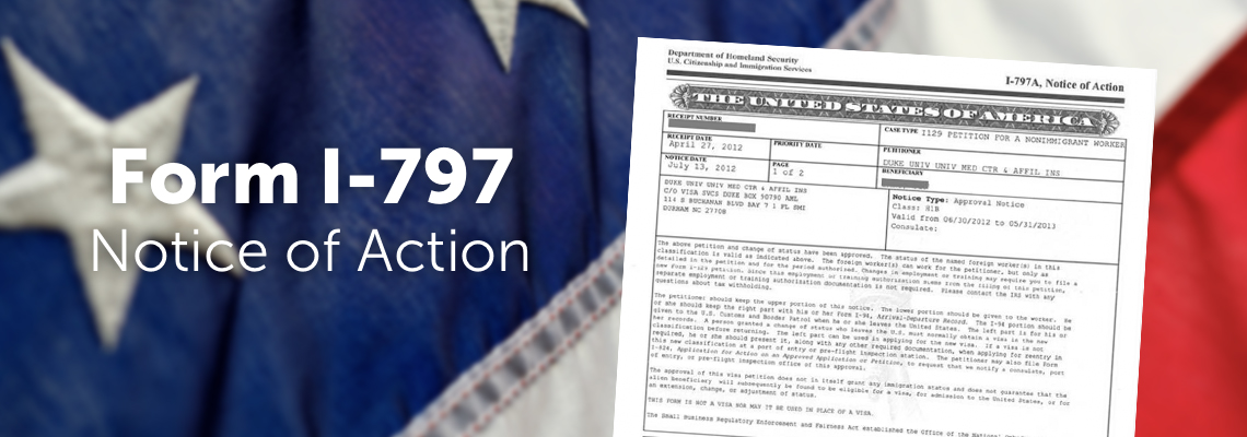What is the I-797 Form? - Immigration Learning Center