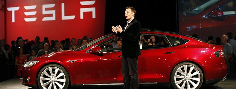 Elon Musk and Model S