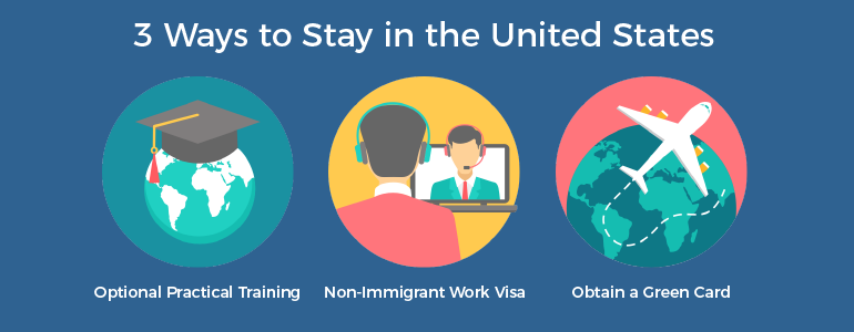 3 ways to stay in the U.S. after college