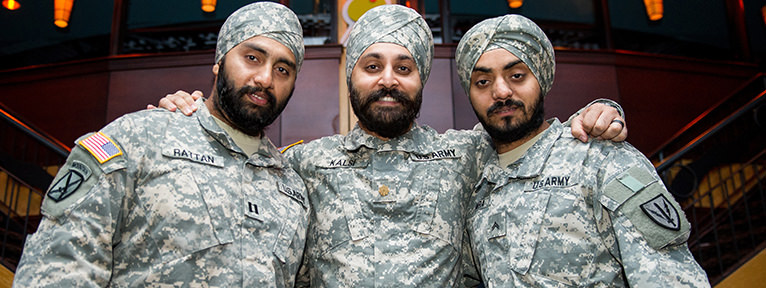 Sikh Men Serving In The U.S. Military