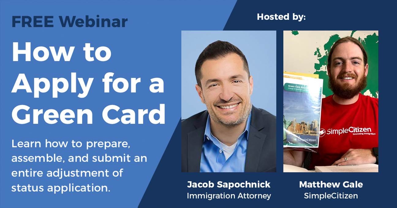 how to apply for a green card with attorney jacob sapochnick rh learn simplecitizen com